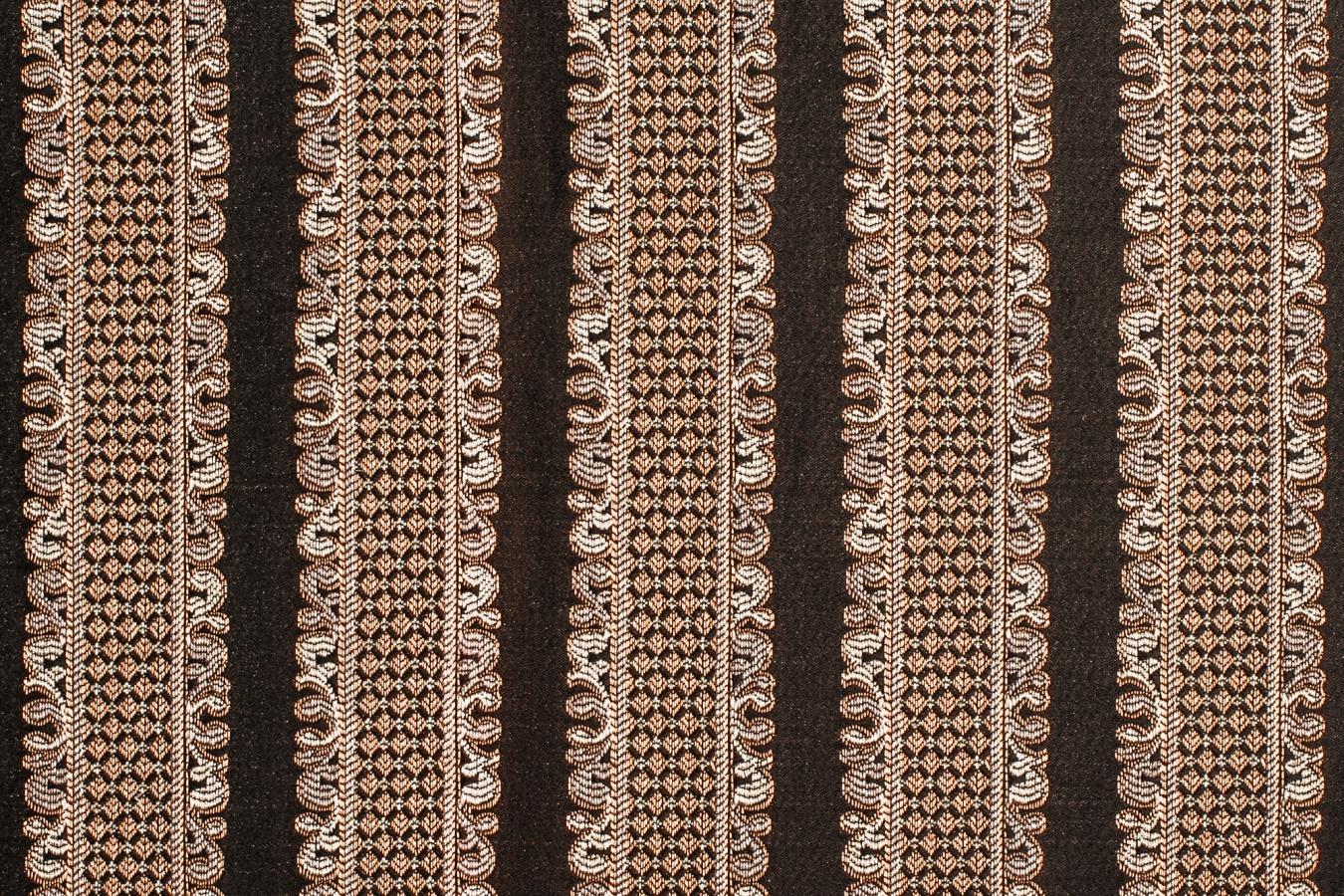 """Мебельная ткань """"Adel Stripe 62"""", жаккард для мебели из массива дерева"""